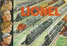 Catalogo Lionel Trains New York  - Inglese Trenini elettrici 1951
