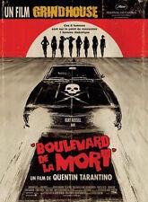 Affiche 120x160cm BOULEVARD DE LA MORT /GRINDHOUSE… 2007 Tarantino Russell NEUV#