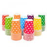 Details about  /30pcs Zigzag Paper Tableware Cups Birthday Party Wedding Events Drinking