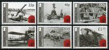 Gibraltar 2015 MNH WWI WW1 World War I Part II 6v Set First Ships Tanks Stamps