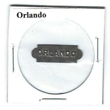 Orlando Chewing Tobacco Tag Embossed O436
