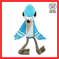 Mordecai Soft Toy Large Plush TV Character Regular Show CN Cartoon Network