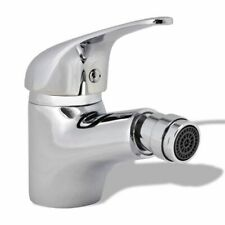 vidaXL Bathroom Bidet Mixer Tap Chrome Kitchen Deck Mounted Faucet Fixture