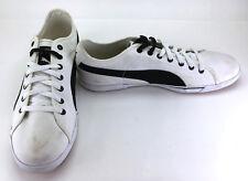 Puma Schuhe Benecio Canvas white/black Sneaker Größe 12