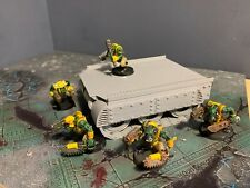 warhammer 40k  terrain scenery 28mm Sci Fi Ork Halftrack Custom Trukk Vehicle