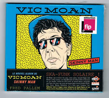 VIC MOAN - SKINNY MAN - CD 10 TITRES - 2016 - NEUF NEW NEU