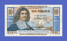 SAINT PIERRE & MIQUELON - 10 FRANCS 1950s - Reproductions