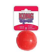 00004000 Kong Squeezz Extra Large Size Ball For Dog Puppy Squeaks Toy Fetch