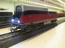 Märklin H0 Digitale Video-Lokomotive HD-Aufnahme + schaltbaren LED-Scheinwerfern