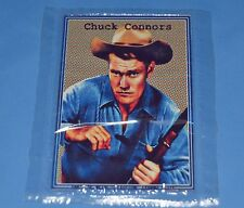 THE RIFLEMAN WESTERN TV SERIE Chuch Connors METAL CARD COLLECTIBLE ARGENTINA