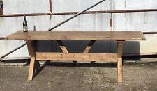 Custom built! Rustic Industrial dinning table.