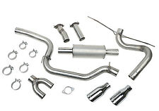 Roush Performance Parts 421610 Cat Back Exhaust Kit Fits 12 17 Ford Focus St