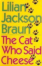 The Cat Who Said Cheese, Braun, Lilian Jackson, Good Book