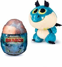 """How to Train Your Dragon The Hidden World 3"""" Gronckle Blue Plush in Egg"""