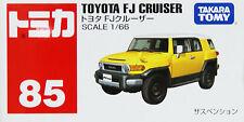 Tomy Tomica 85 TOYOTA FJ CRUISER YELLOW 392446