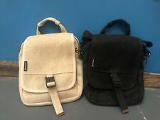 Hemp Bags - Deluxe Tablet Bag - 100% Hemp Color: Natural & Black