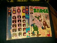 Sad Sack And The Sarge 6 Issue Silver Bronze Age Comics Lot Run Set Collection