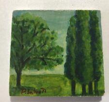 Paolo Salvati, miniatura 1993, olio su tavola cm 6,5x5.