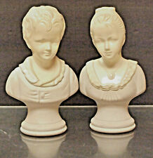 Cologne Bottles Decanters 6'' H by Avon In Shape Of 18th Century Figurines, Usa