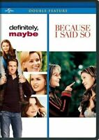 DEFINITELY MAYBE + BECAUSE I SAID SO New Sealed DVD Ryan Reynolds Diane Keaton