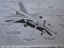 Airplane Aeronautic Design Aircraft Engineering Vintage Military Commercial 1967