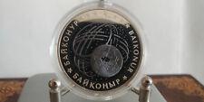 Kazahstan 2012 500 Tenge Baikonur Bimetall/Silber+Tantal
