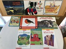 Lot of 9 Kindergarten Level Reading Books A Pair of Socks, Clifford and More