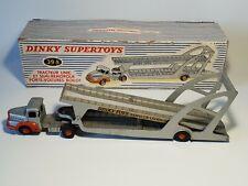 🚜 dinky toys 39A tracteur unic et semi-remorque porte voitures Boilot