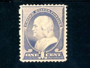 USAstamps Unused VF US 1887 Serie of Franklin Scott 212 NG