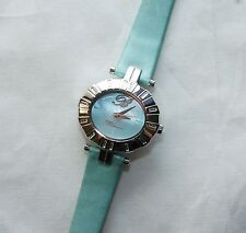 NEW Bluemarine BM.3151 Womens Mother Of Pearl Watch Blue Swarovski blumarine MOP