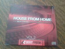 cd album house from home the beat freak group spanish sampler vol.2