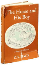 1st/1st The Horse and His Boy - C.S. Lewis 1954 Macmillan Narnia HCDJ