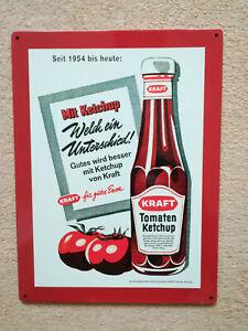 Kraft Ketchup Blechschild