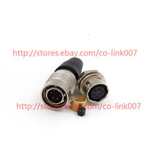 6Pin Hirose Power Connector HR10A-7P-6P/6S for Topcon Total Station for Nikon