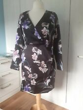 Brand new Black floral sexy dress from Lipsy, size 6