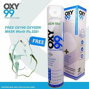 Oxy99 Portable Cylinder Instantly Increases Oxy Levels In The Body - Offer Sale