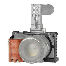 SmallRig Cage with Wooden Handgrip 1/4''-20 thread for Sony A6000/A6300 2082