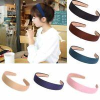 Girls Headwear Headband Women Hair Band Cloth Hair Hoop - 9 Colors For Choice