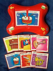 M&S What Sound does a Musical Instrument make? Listen and Learn Toy