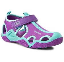Children's Sandali/scarpe Geox respira J dello stivale G A LYCRA & DBK Taglia uk13 NUOVI