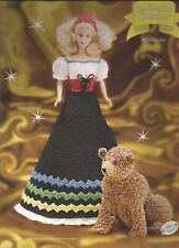 Goldilocks and Bear FAIRY TALE Collection Annies Fashion Doll Crochet Pattern
