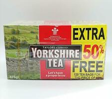 Yorkshire Tea Original Red Label 120 Tea Bags 375g, Pure and simple