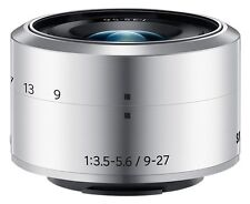 SAMSUNG NX 9-27mm f/3.5-5.6 ED OIS Lens silver for NX Mini -White box