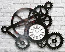 Giant Large 106cm Industrial Metal Gear Wheel Vintage Art Display Wall Clock