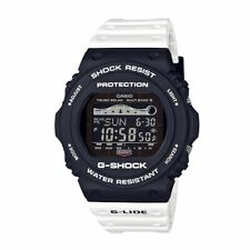 Casio G-shock GWX5700SSN-1 G-Lide Solar Atomic Radio Moon Tide Watch