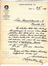 2 x Dokument Briefkopf Louis Bartenstein Ratibor 1921 ! (D)