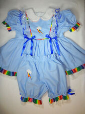 Adult Baby Sissy My Little Pony RAINBOW DASH Dress Set Binkies_n_Bows