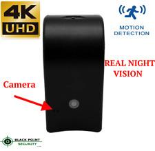 4K HD Hidden Spy Security Night Vision Camera Room Home Wall Air Freshener