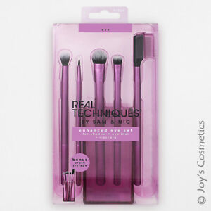 "1 REAL TECHNIQUES Enhanced Eye Set + Brush Cup ""RT-1534""  *Joy's cosmetics*"