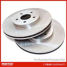 Genuine OE Quality Mintex Rear Vented Brake Discs Set Pair